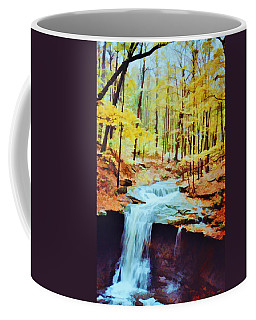 Coffee Mug featuring the photograph Blue Hen Falls by Diane Alexander
