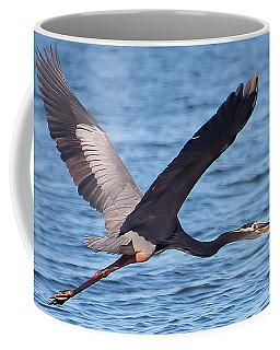 Blue Heron Wingspan Coffee Mug