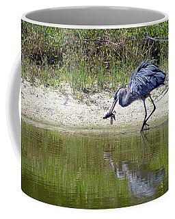 Blue Heron's Lucky Day Coffee Mug