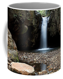 Coffee Mug featuring the photograph Blue Hole In Spring #2 by Jeff Severson