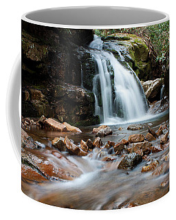 Coffee Mug featuring the photograph Blue Hole In Spring #3 by Jeff Severson