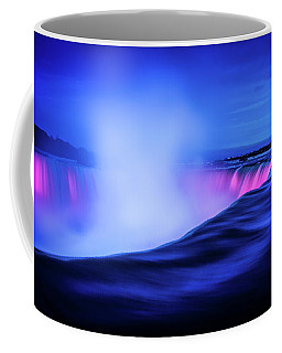 Blue Hour At Niagara Falls Coffee Mug