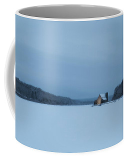 Blue Hour At The Old Stone Church Coffee Mug