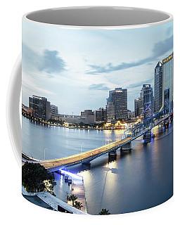 Blue Hour In Jacksonville Coffee Mug