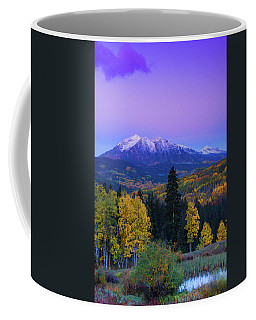Blue Hour Over East Beckwith Coffee Mug