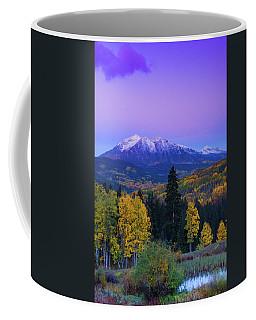 Blue Hour Over East Beckwith Coffee Mug