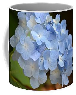 Blue Hydrangea Up Close Coffee Mug