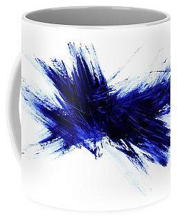 Blue I Coffee Mug