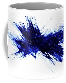 Blue I Coffee Mug
