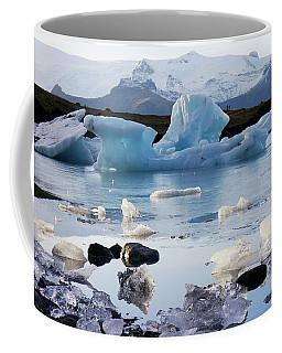 Blue Iceberg And Ice Crystals Coffee Mug