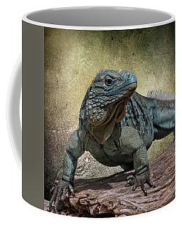 Blue Iguana Coffee Mug