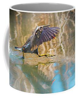 Coffee Mug featuring the photograph Blue Impression by Jivko Nakev