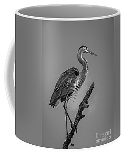 Blue In Black-bw Coffee Mug