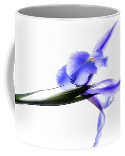 Blue Iris For Irma Coffee Mug