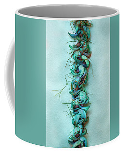 Blue Jade Lei With Hinahina Coffee Mug