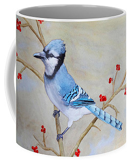 Blue Jay Coffee Mug