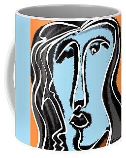 Blue Lady Coffee Mug