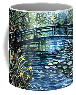 Coffee Mug featuring the painting Blue Lagoon by Elizabeth Robinette Tyndall