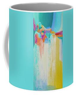 Blue Lagoon Coffee Mug by Irene Hurdle