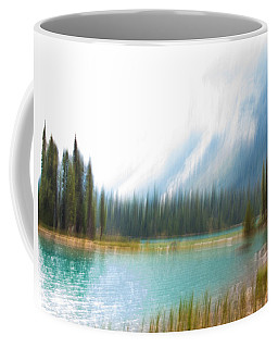 Blue Lake Coffee Mug by Catherine Alfidi