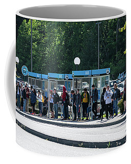 Blue Line On Campus Coffee Mug