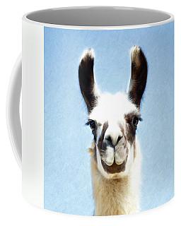 Blue Llama Coffee Mug
