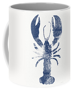 Blue Lobster- Art By Linda Woods Coffee Mug