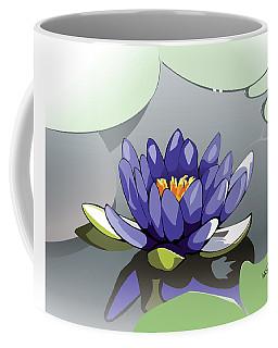 Blue Lotus Coffee Mug