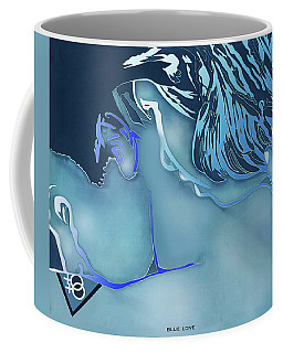 Blue Love Coffee Mug