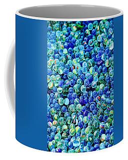 Blue Marble Abstract Coffee Mug