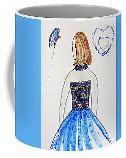 Blue Match Coffee Mug