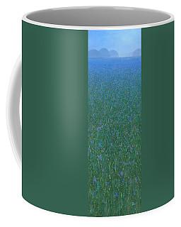 Blue Meadow 2 Coffee Mug by Steve Mitchell