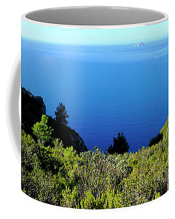 Blue Mediterranean Sea Coffee Mug