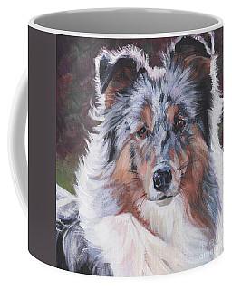 Blue Merle Sheltie Coffee Mug
