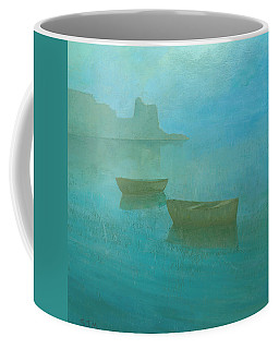 Blue Mist At Erbalunga Coffee Mug