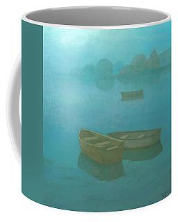 Blue Mist Coffee Mug by Steve Mitchell