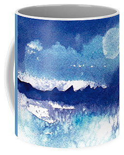 Blue Mohave Moon Coffee Mug