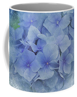 Blue Moments Coffee Mug by Elaine Manley