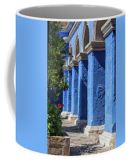 Blue Monastery Coffee Mug