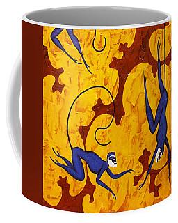 Blue Monkeys No. 45 Coffee Mug