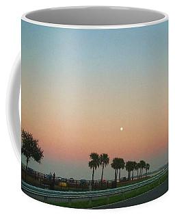 Blue Moon At Twilight Coffee Mug by Deborah Lacoste