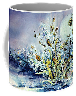 Blue Moon Floral Coffee Mug