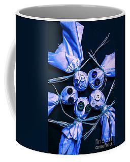 Blue Moon Halloween Scarecrows Coffee Mug