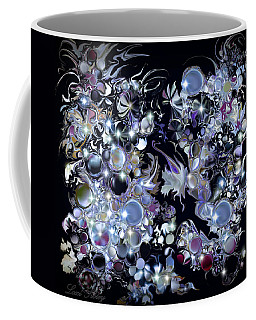 Coffee Mug featuring the digital art Blue Moon by Loxi Sibley