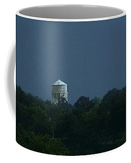 Blue Moon Over Zanesville Water Tower Coffee Mug