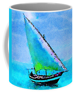 Blue Morning Coffee Mug