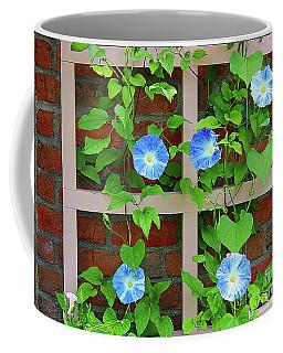Blue Morning Glory Coffee Mug