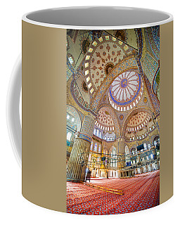 Blue Mosque Interior Coffee Mug