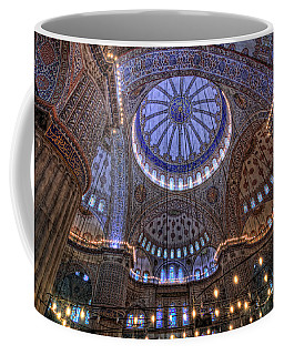 Blue Mosque Coffee Mug