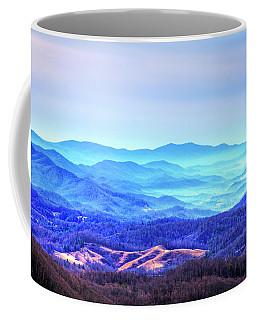 Blue Mountain Mist Coffee Mug by Dale R Carlson